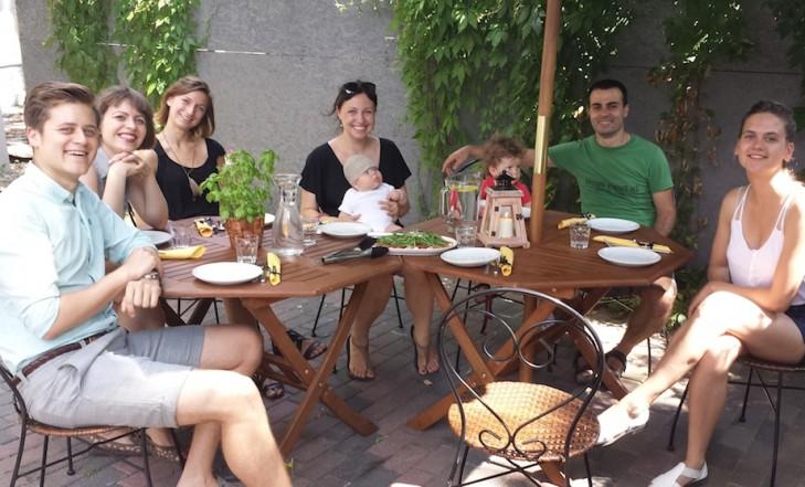 Gian Luca's guests