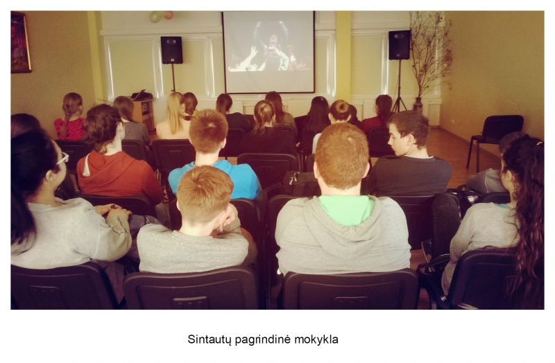 Sintautų pagrindinė mokykla (mokytojos Daivos Piečaitytės nuotrauka)