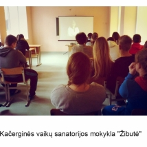 """Kačerginės vaikų sanatorijos mokykla """"Žibutė"""" (mokytojos Laimutės Bičiūnienės nuotrauka)"""