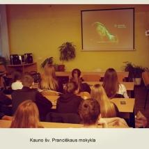 Kauno šv. Pranciškaus mokykla (mokytojos Eglės Strašinskaitės nuotrauka)