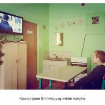 Kauno rajono Girininkų pagrindinė mokykla (mokytojos Audros Staskevičienės nuotrauka)