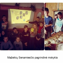 Mažeikių Senamiesčio pagrindinė mokykla (mokytojos Irenos Stancikienės nuotrauka)