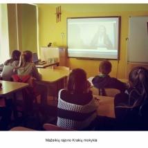 Mažeikių rajono Krakių mokykla (psichologės Ingridos Mažeikienės nuotrauka)