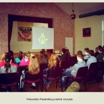 Panevėžio Pakalniškių pradinė mokykla (mokytojos Vigitos Penikienės nuotrauka)