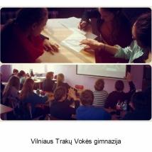 Vilniaus Trakų Vokės gimnazija (mokytojos Kristinos Čiapienės nuotrauka)