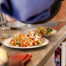 Michael Laiskonis ruošia vakarienę